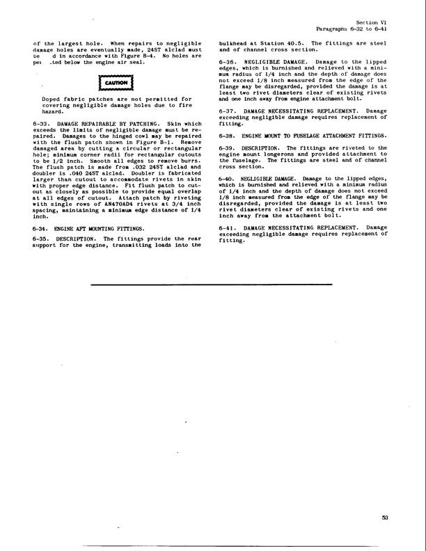 Structural Repair Manual | Manuals